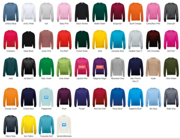 sweatshirts classiques personnalisés clubs