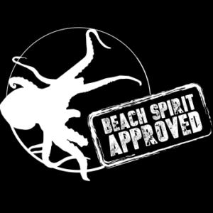 Logos transferts textile serigraphie beach spirit